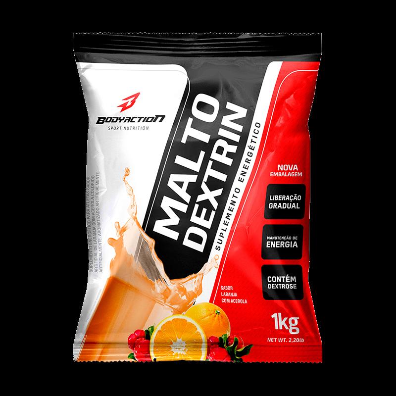 Maltodextrina (1000g) Body Action-Guaraná com Açaí