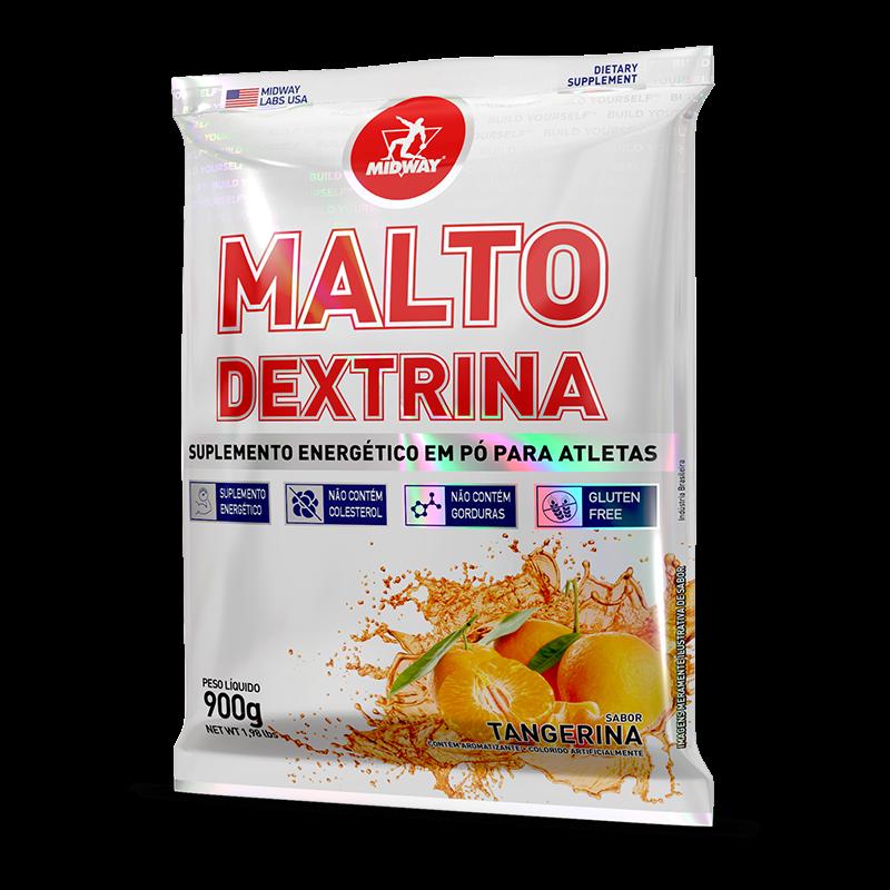 Maltodextrina (900g) Midway USA-Frutas Tropicais