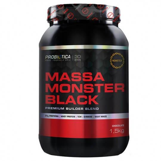 Massa Monster Black (1,5 kg) - Probiótica