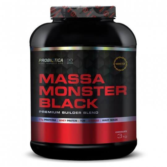 Massa Monster Black (3kg) Probiótica