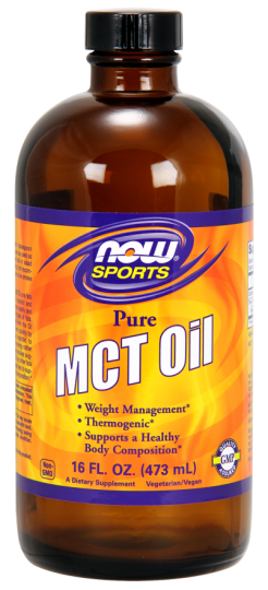 MCT Oil 473ml - Now Sports