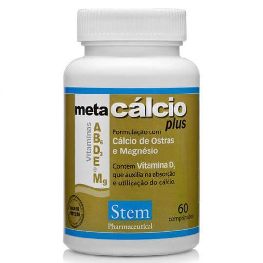 Meta Cálcio Plus (60 tabs) - Stem