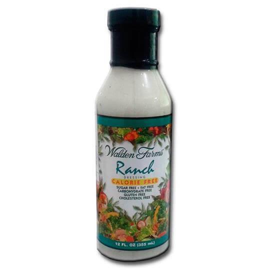 Molho Ranch para saladas (355ml) - Walden Farms