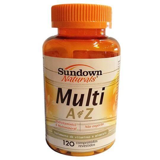 Multi AZ (Multivitamínico) (120caps) - Sundown
