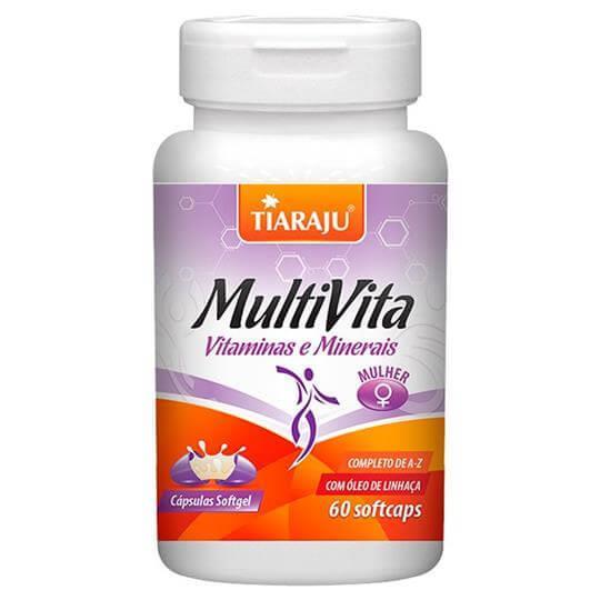 Multi Vita Mulher (60softcaps) - Tiaraju