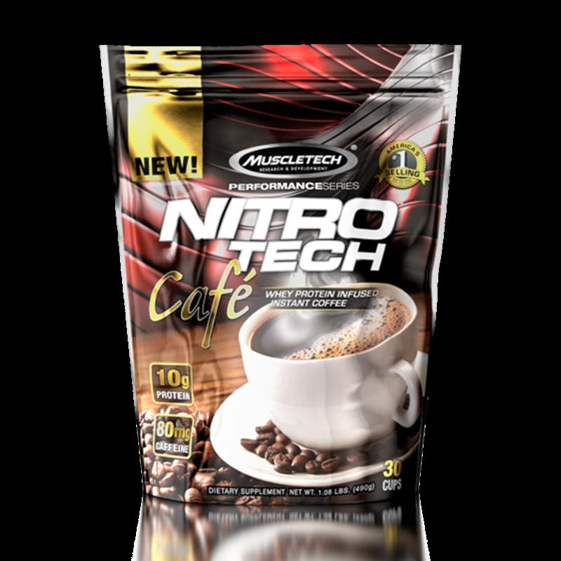 NitroTech Café Mocha (30 doses) MuscleTech