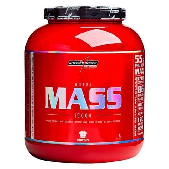 Nutri Mass 15000 (3kg) - Integralmédica