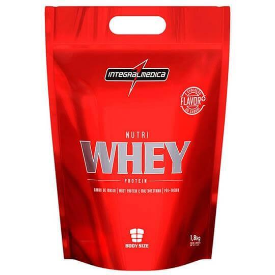 Nutri Whey Protein (Refil 1,8Kg) - Integralmédica