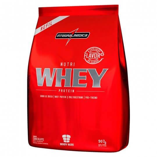 Nutri Whey Protein (Refil 907g) - Integralmédica
