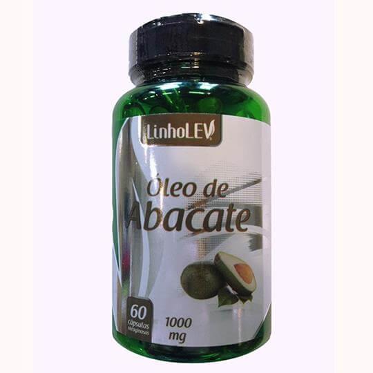 Óleo de Abacate 1000mg (60caps) - Linholev