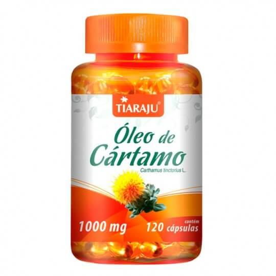 Óleo de Cártamo 1000mg (120caps) - Tiaraju