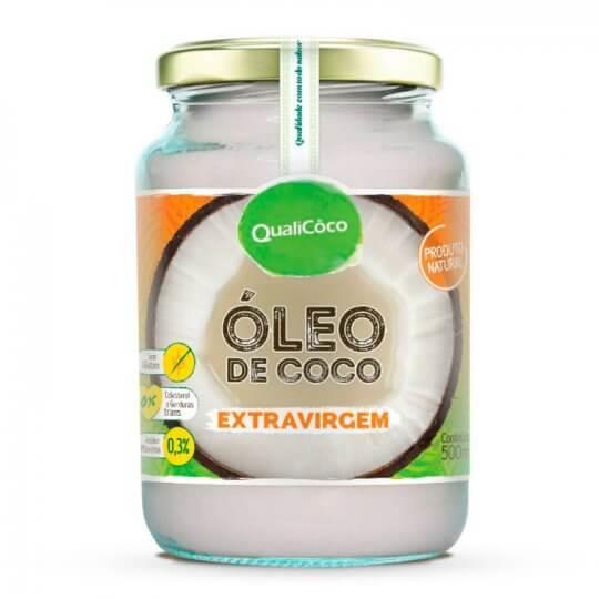 Óleo de Coco Extra Virgem (500ml) - Qualicôco