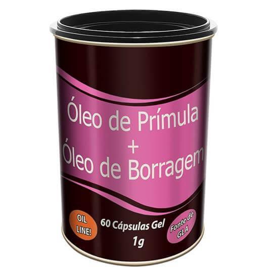 Óleo de Prímula + Óleo de Borragem (1g) 60 cápsulas - Tiaraju