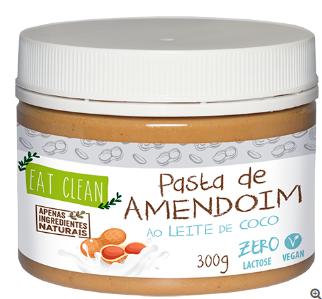 Pasta de Amendoim ao Leite de Coco 300g - Eat Clean