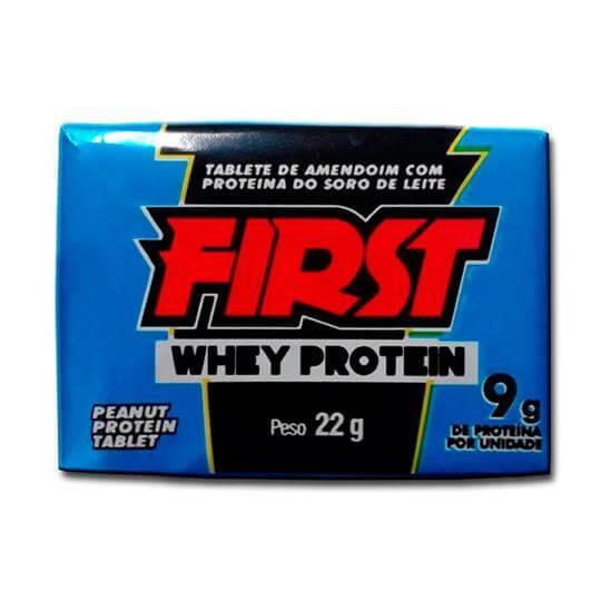 Peanut Protein Tablete First (22g) - Santa Helena