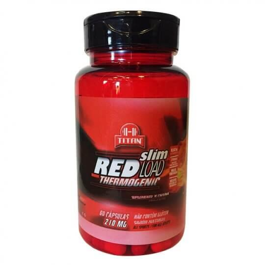 Red Load Thermogenic 210mg (60caps) - Titan