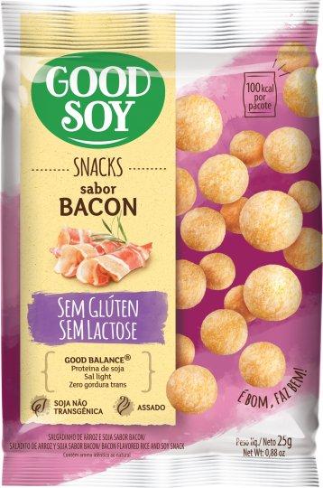 Snack de Soja Bacon 25g - Good Soy