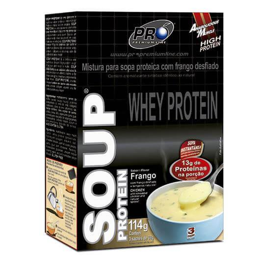 Soup Protein (Caixa c/ 3 Sachês) - Pro Premium Line