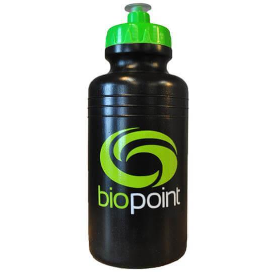 Squeeze Biopoint Preta/Verde (550ml) - Biopoint