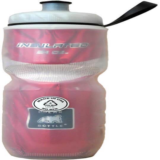 Garrafa Térmica Vermelha (710ml) - Polar Bottle