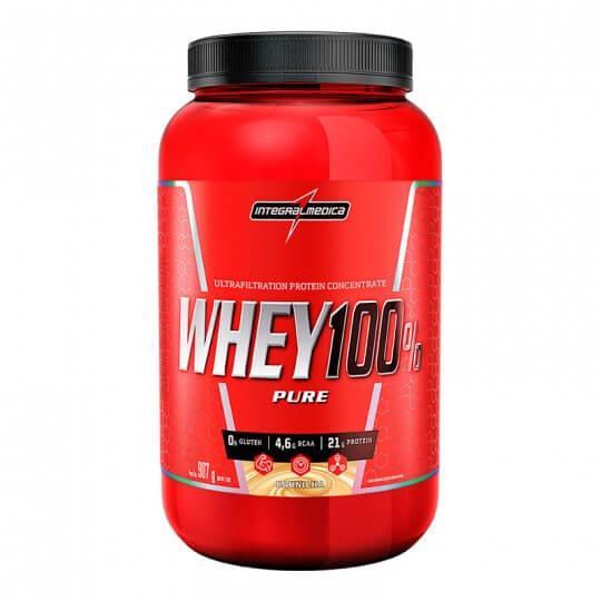 Super Whey 100% Pure (907g) - Integralmédica | LIQUIDAÇÃO