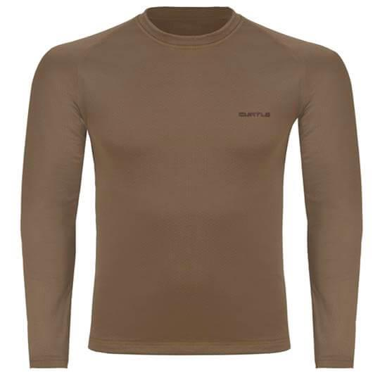 Camiseta Thermo Skin Manga Longa (Terra) - Curtlo