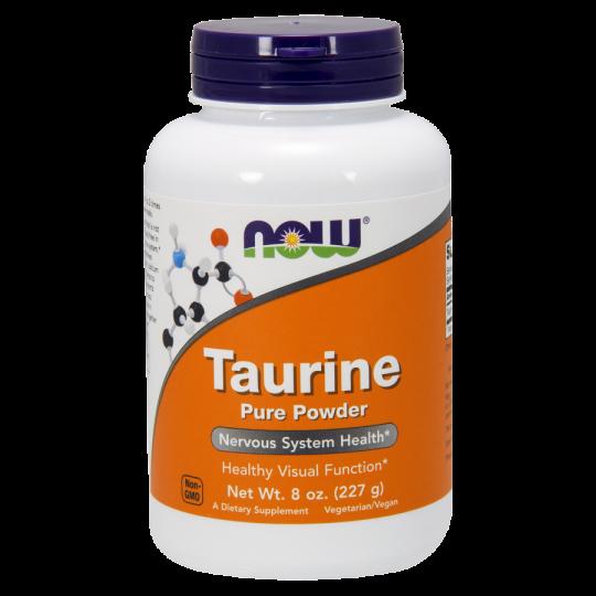 Taurine Powder 227g - Now Sports