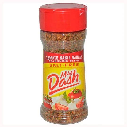 Tempero Tomato Basil Garlic (Tomate Basilico e Alho) (57g) - Mrs Dash