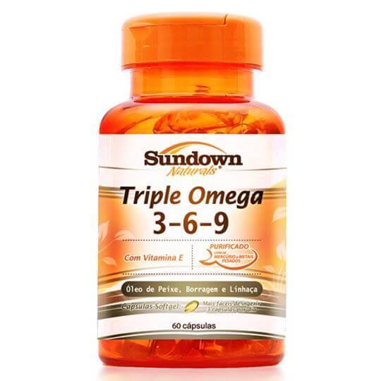 Triple Ômega 3-6-9 (60caps) - Sundown