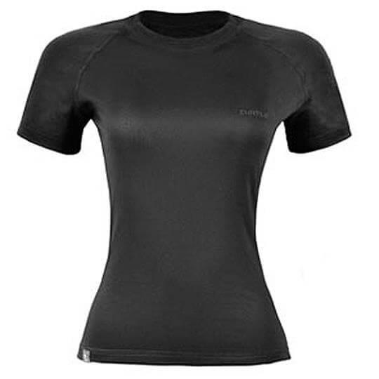 Camiseta Thermo Skin Feminina Manga Curta (Preta) - Curtlo