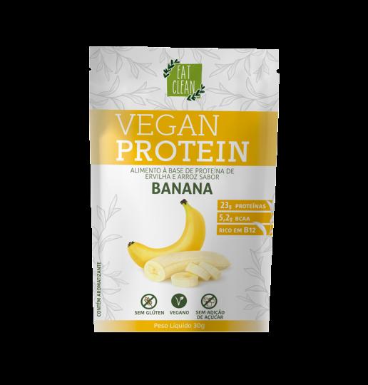 Vegan Protein Banana Sachê 30g - Eat Clean