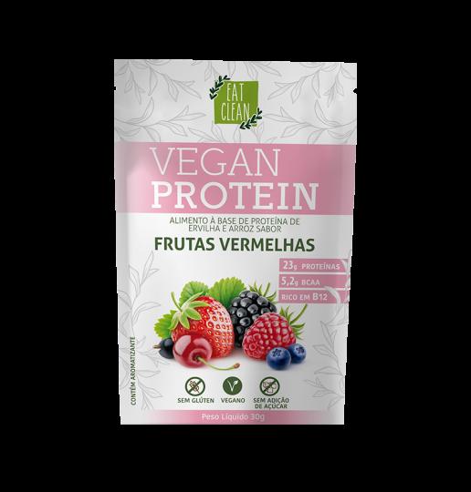 Vegan Protein Frutas Vermelhas Sachê 30g - Eat Clean