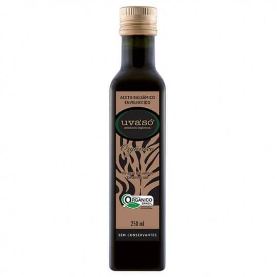 Vinagre Balsâmico Envelhecido Orgânico UvaSó (250ml) - Econatura