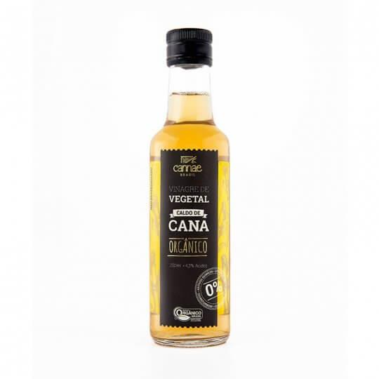 Vinagre Vegetal de Caldo de Cana Orgânico (250ml) - Cannae