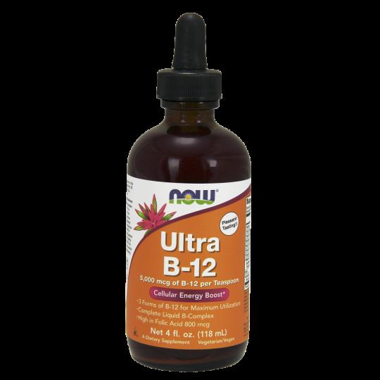 Ultra B12 Liquid 118ml - Now Sports