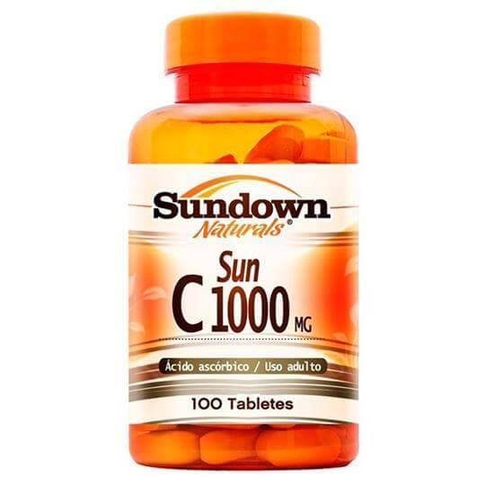 Vitamina C 1000mg (100tabs) - Sundown