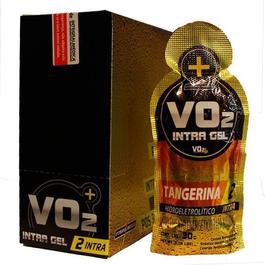 VO2 Gel Intra-treino (30g) (Caixa c/ 10 Unidades)- Integralmédica