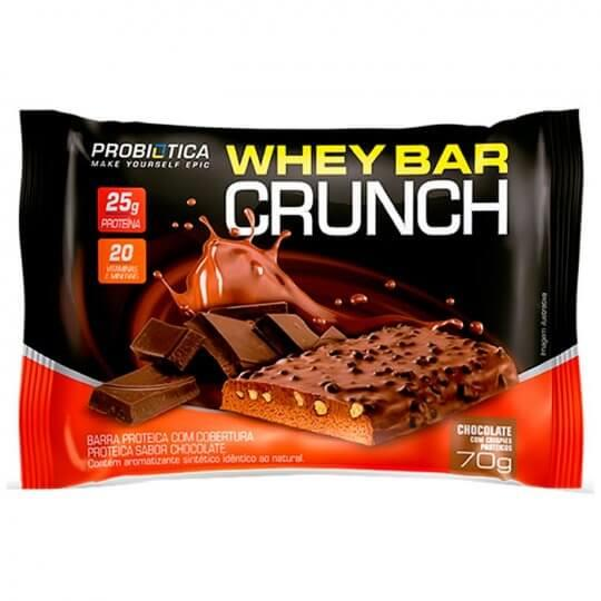 Whey Bar Crunch (70g) - Probiótica