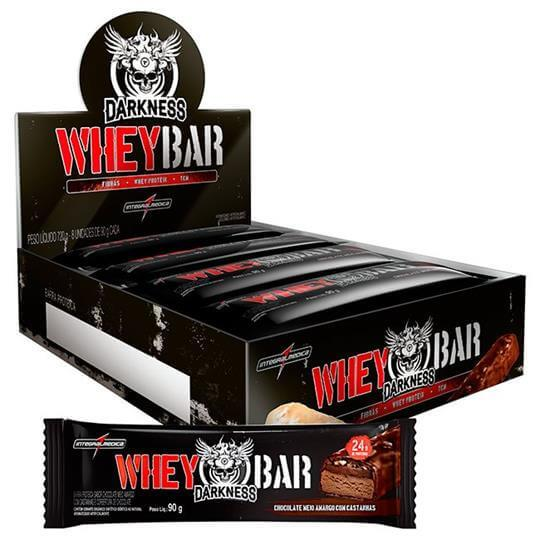Whey Dark Bar Darkness (Caixa c/ 8 unidades) - Integralmédica