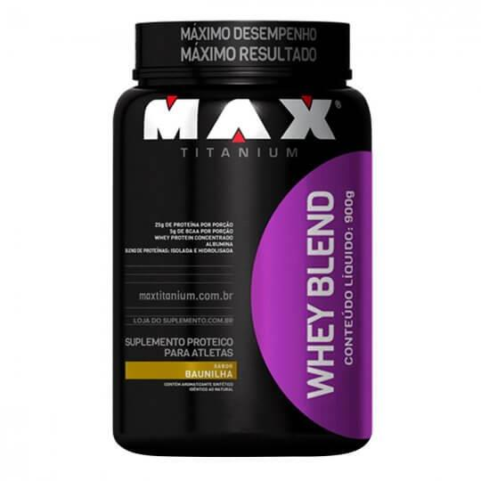 Whey Blend (900g) Max Titanium-Chocolate