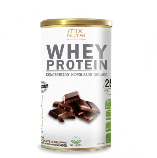 Whey Protein Chocolate 450g - Mix Nutri