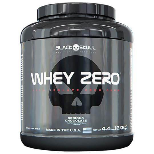 Whey Zero (2Kg) - Black Skull