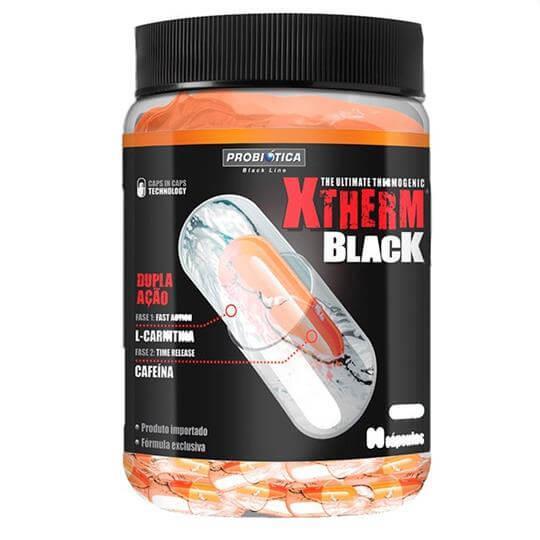 Xtherm Black (60caps) - Probiótica