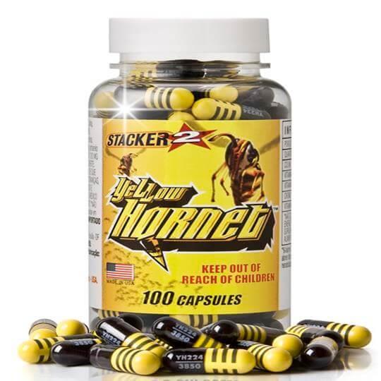 Yellow Hornet (100caps) - Stacker (Escolha seu Brinde)