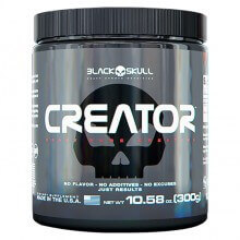 Creator Creatina (300g) - Black Skull