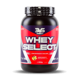 Whey Select (900g) 3VS-Morango