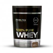 Imagem - 100% Pure Whey Protein - Saco (825g) - Probiótica | LIQUIDAÇÃO