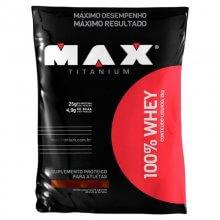 100% Whey Protein (2000g) Max Titanium-Vitamina de Frutas