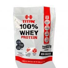 100% Whey Protein Refil (837g) - Titan