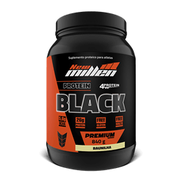 Protein Black 4w (840g) New Millen-Chocolate